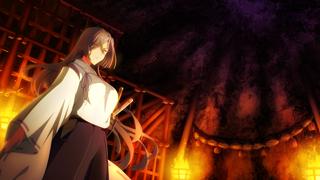 折神 紫【祭祀装束】 ホーム画面の背景画像