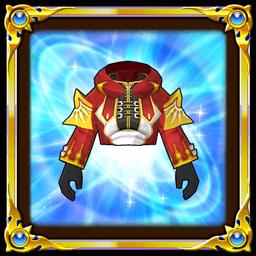 赤魔道士の服上