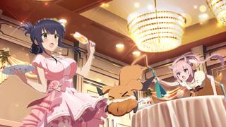 柳瀬 舞衣【ドレス】 ホーム画面の背景画像
