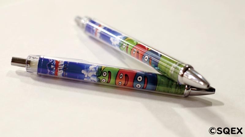DQMSLオリジナルボールペン