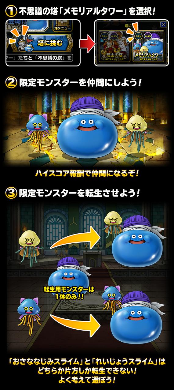 メモリアルタワー遊び方画像