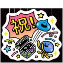 「祝!500万DL突破」スタンプ
