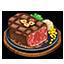 ジューシーステーキ